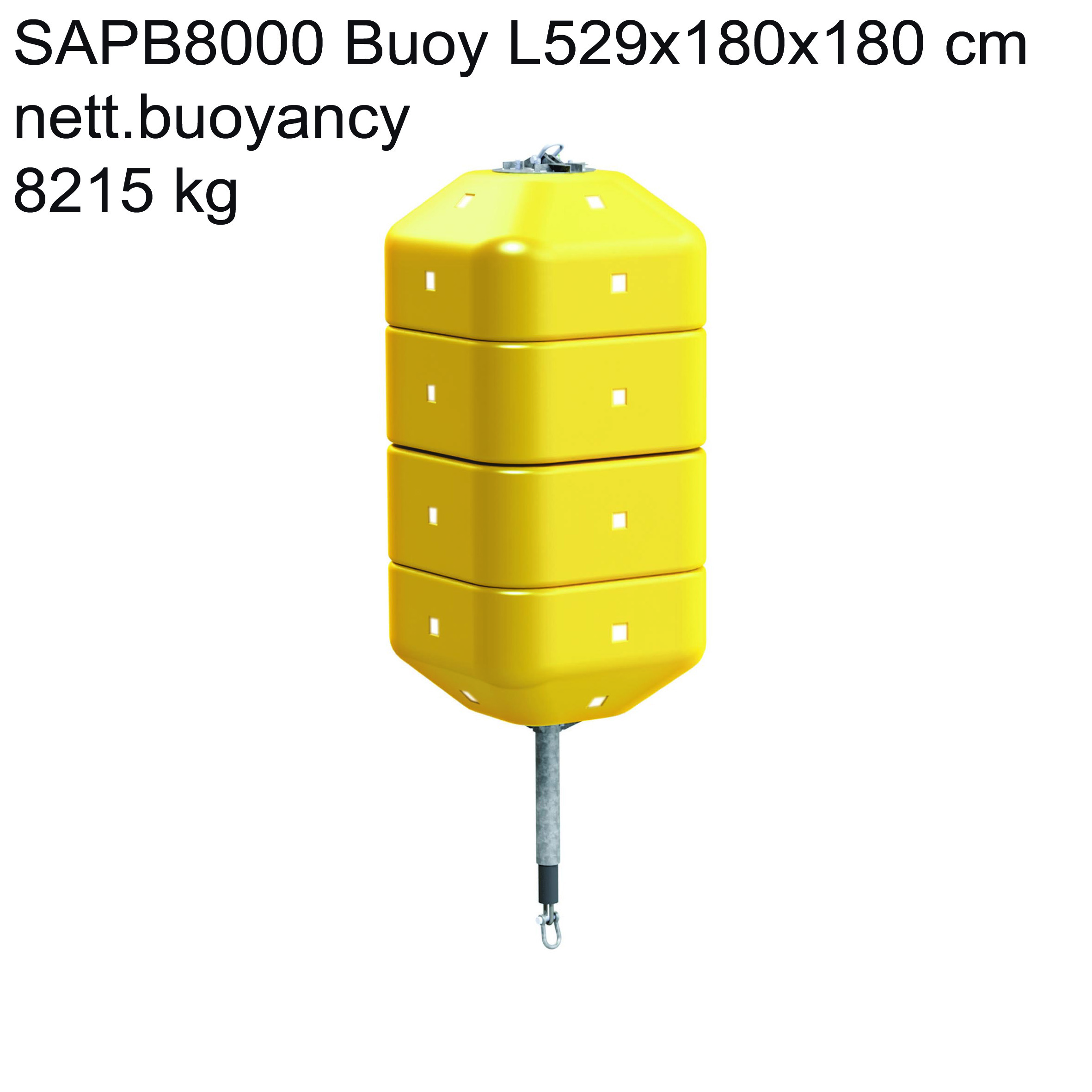 Polyform Abp Modular Pennant Buoy Offshore Foamed Diam