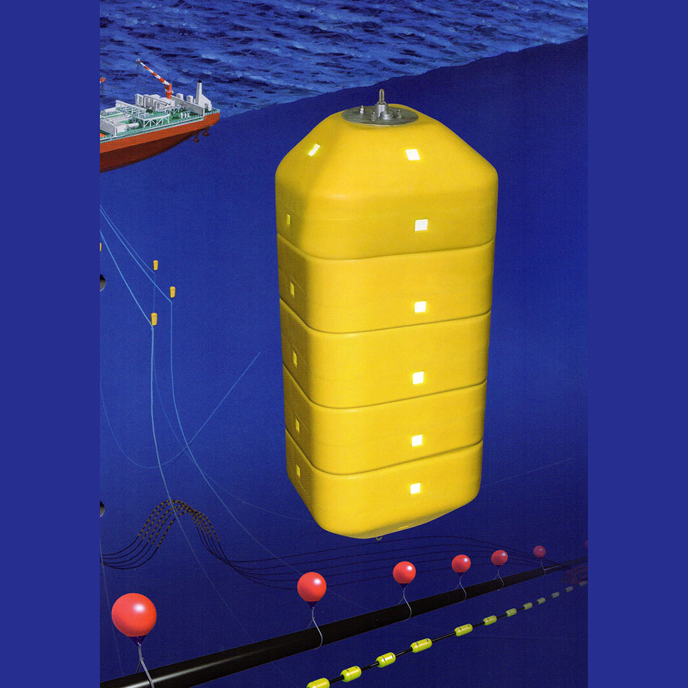 Polyform Abp Modular Pennant Buoy Offshore Foamed Diam 117 180cm 1500 10000 Lt Maru